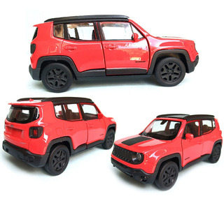 Miniatura Jeep Renegade Trailhawk 2017 1/34 Full