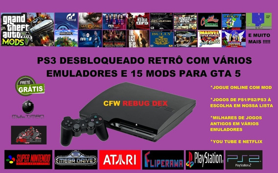 Play 3 Ps3 Playstantion3 Desbloqueado