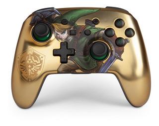 ..:: Control Inalambrico Zelda Gold ::.. Switch Game Center