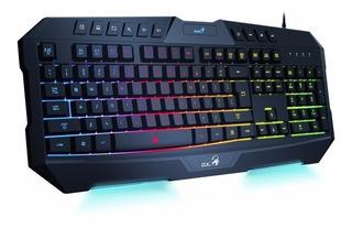 Gx Gaming Scorpion K20 Teclado Gamer Con Luz Htg