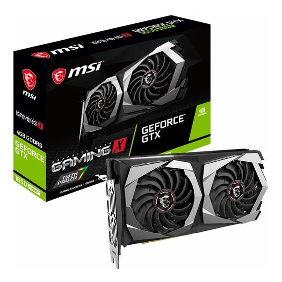 Placa Video Geforce Gtx 1650 Super 4g Msi Gaming X Mexx 3
