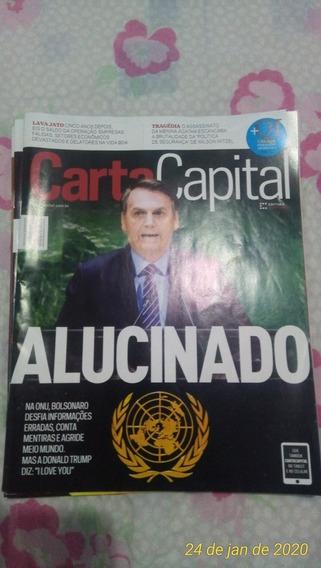 Revistas Carta Capital 4 Exemplares Em Ótimo Estado.