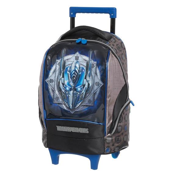 Mochilete Transformers Optimus Prime Hero 933p01, Em Nylon,