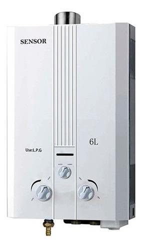Calentador Gas Calefon 6 Lts Tiro Forzado Sensor | Xenex |