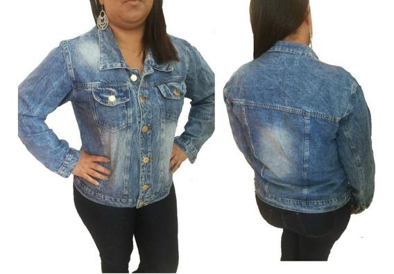 Jaqueta Feminina Plus Size G1 G2 G3 Jeans Roupas Femininas