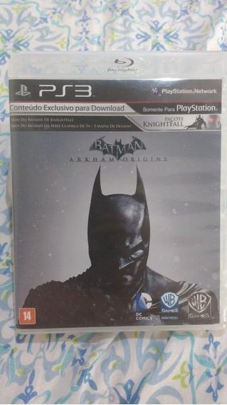Batman Origins(inglês) - Mídia Física - Ps3