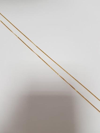 Corrente Feminina Em Ouro 18k 1,4 Gr - 58