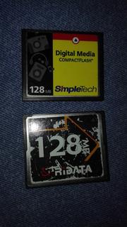Compact Flash 128 Mb X2