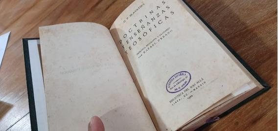 Livro Doctrinas Y Ensenanzas Teosóficas, Rafael Urbano 1922