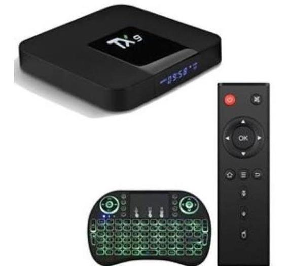 Android Tv Tx9 4k 3gb Ram 32gb Com Teclado Promoção