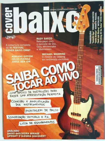 Lote 10 Revistas - Revista Cover Baixo (colecionador)