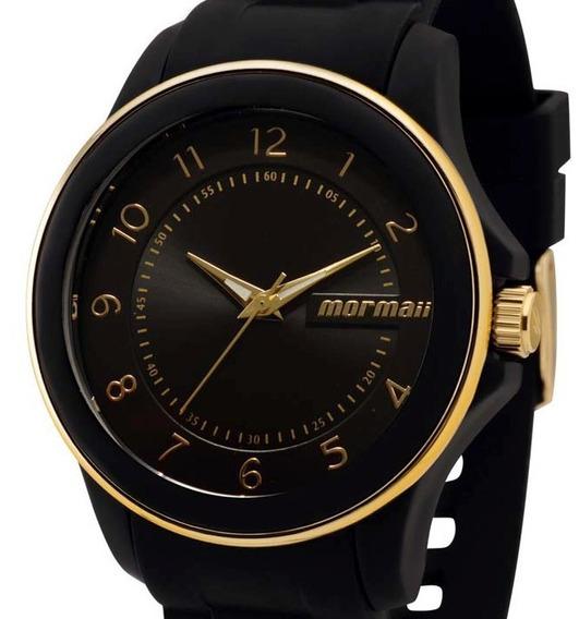 Relógio Mormaii Feminino Preto Mopc21jae/8p Original + Nf-e