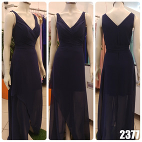 15a8d9361 Vestido Azul Turquesa Transpassado - Vestidos Femininas no Mercado ...
