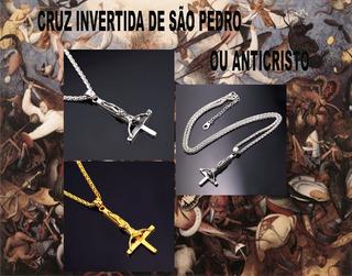 Cruz Invertida - Cruz De São Pedro - Crisãos - Satanistas