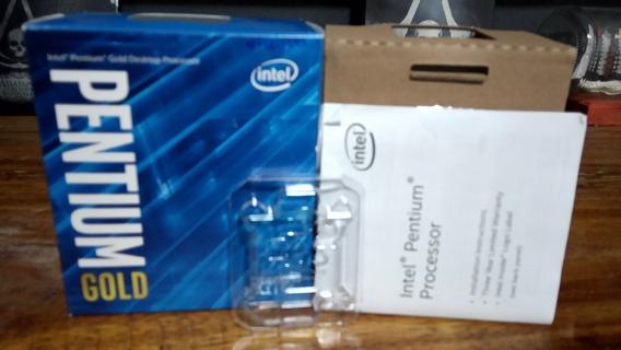 Caixa Do Processador Intel Pentium Gold G5400