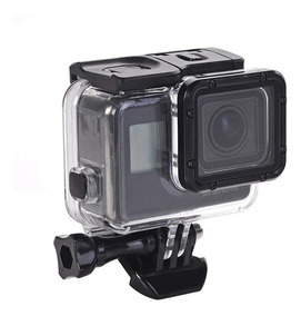 Caixa Estanque Case Câmera P/ Gopro Hero 5 6 7 Black