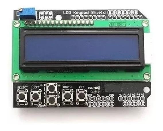 Display Lcd Keypad Shield 16x2 Teclado Botoes Arduino