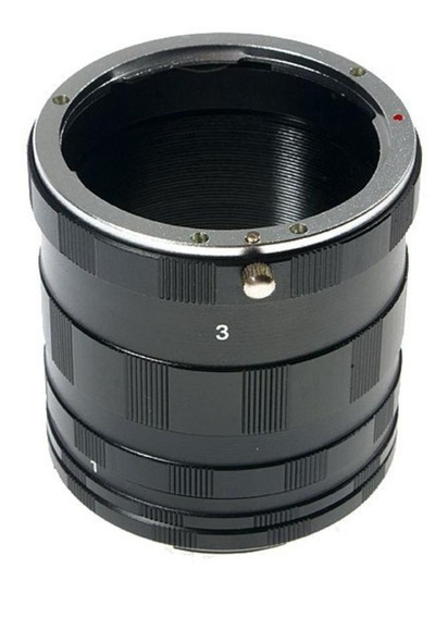 Tubo Extensor Variavel Macro Fotografia Cameras Nikon - P43