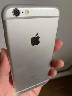 iPhone 6 Silver Prata 64gb Apple Defeito