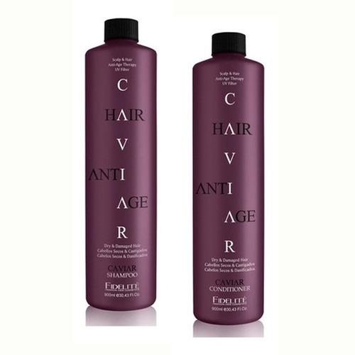 Imagen 1 de 2 de Shampoo Y Acondicionador Fidelite Cabellos Dañados X900