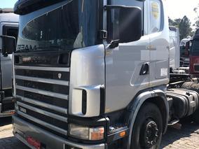 Scania R124 360 - 6x4 - 2005 - 1° Caminhão - R$43.000,00