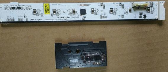 Placa Touch Lg + Plca Sensor Do Remoto 42le5300