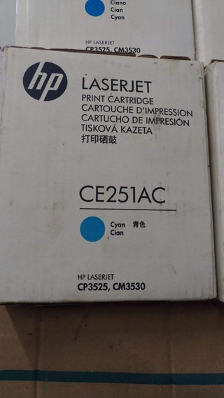 Kit 3 Toner Original Hp Ce251az
