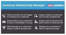 Customer Relationship Manager Woocommerce 2019 + Brindes