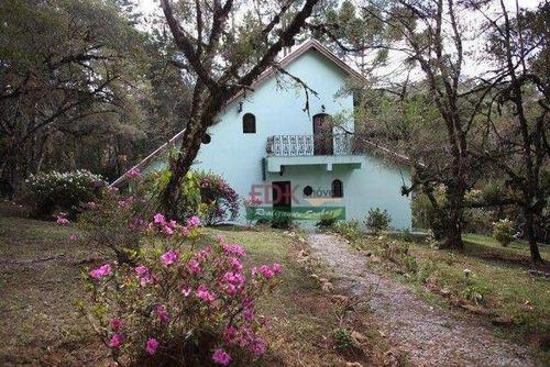 Imagem 1 de 15 de Chácara Com 3 Dormitórios À Venda, 16279 M² Por R$ 550.000,00 - Fonte Simão - Campos Do Jordão/sp - Ch0763