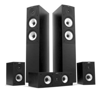Jamo S526hcs Home Theater 5.0 Bafles Columnas Central