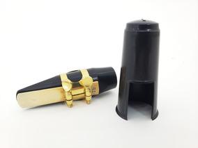 Boquilha Sax Alto Completa Abs Custom N4