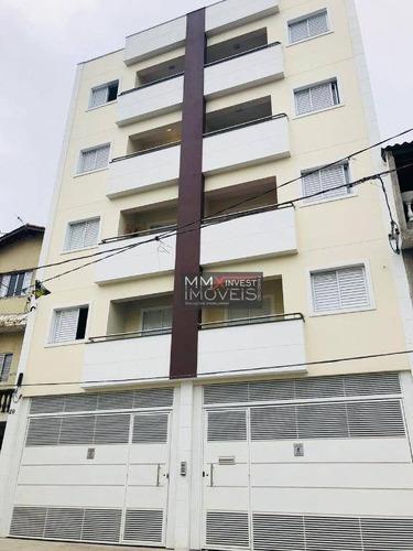 Imagem 1 de 11 de Apartamento Com 2 Dormitórios Para Alugar, 52 M² Por R$ 1.350,00/mês - Vila Amália (zona Norte) - São Paulo/sp - Ap1076