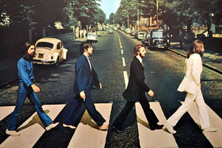 Poster Capa Beatles Decoração Vintage Rock Plastificado