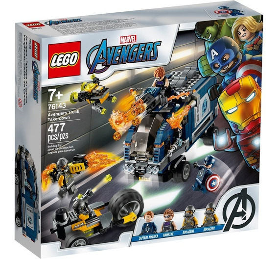 Lego ® Super Heroes - Vengadores: Derribo Del Camión