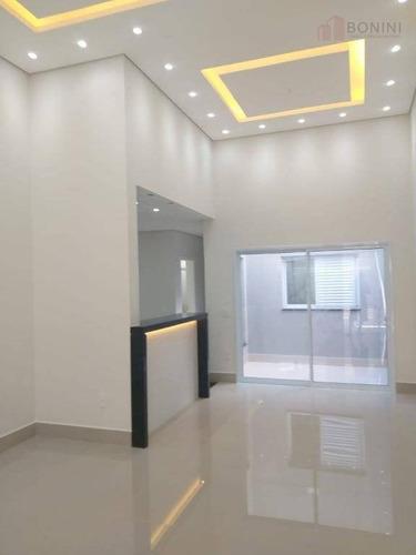 Casa Com 3 Dormitórios À Venda, 130 M² Por R$ 530.000 - Jardim Terramérica Iii - Americana/sp - Ca0600