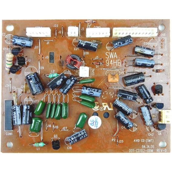 Placa Pci Cdp Cd102-odm Micro Sistem Com Cd Bs-360 Britânia