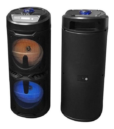 Parlante Bluetooth Torre 20 Watt / Karaoke / Fm / Aux / Sd
