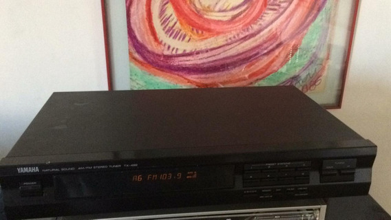 Yamaha Tx-492 Sintonizador/tuner Perfeito+manual + Antena