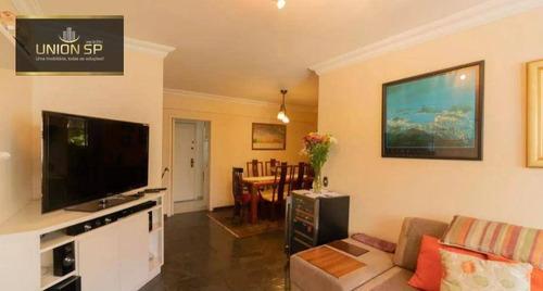Imagem 1 de 17 de Apartamento Com 3 Dormitórios À Venda, 110 M² Por R$ 900.000,00 - Vila Nova Conceição - São Paulo/sp - Ap49314