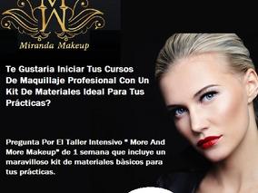 Servicio De Maquillaje Profesional Y Cursos Personalizados