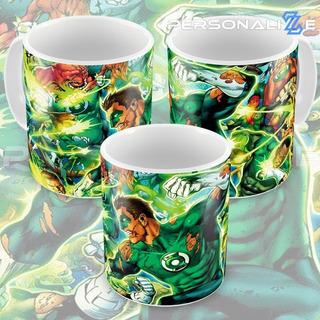 Caneca Lanterna Verde Quadrinhos Hq Dc Comics Modelo 03 M