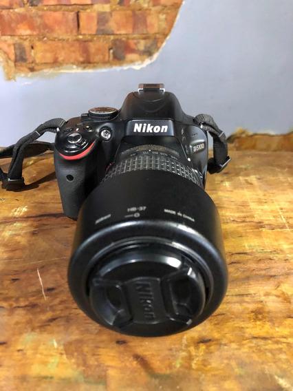 Câmera Nikon D5100 Mais Lente Dx Nikkor 55-200