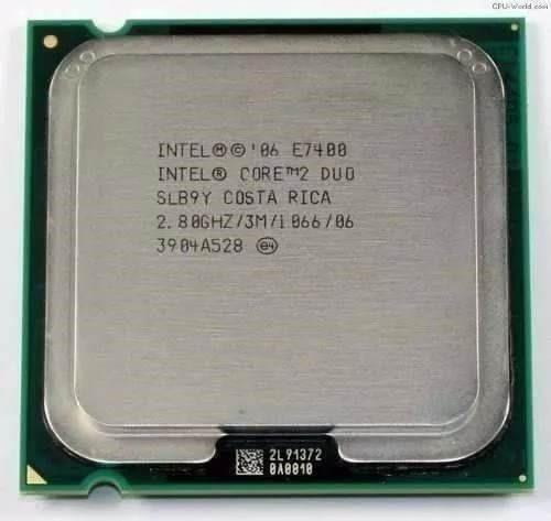 Proc. Core 2 Duo E7400 2.8ghz Socket 775 -