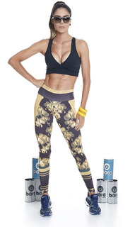 Legging Golden Flowers