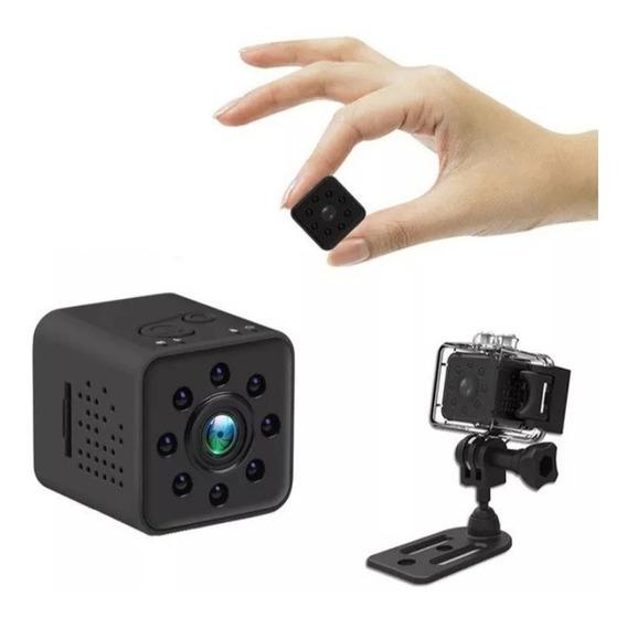 Mini Micro Câmera Espiã Sq23 Full Hd 1080p Wifi Prova D