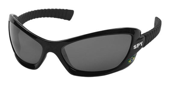 Óculos De Sol Spy Original - Modelo Bogu 40 Preto Fosco
