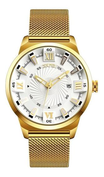Skmei 9166 Relógio Multifuncional Impermeável E Relógio Masc