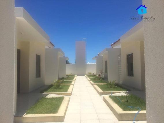 Casas Com Solarium E Area De Lazer Completa Em Praia Bela! - Ca0534