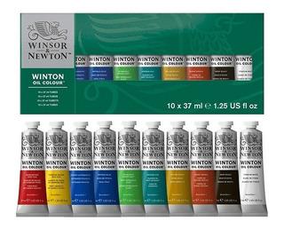 Set Oleos Winton 10 Tubos X 37ml Winsor & Newton