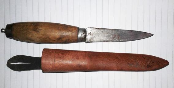 Cuchillo De Caza P/bota K.j. Eriksson Mora Made In Sweden